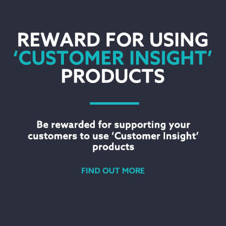Rewards for Customer Insight products