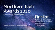 Northern Tech Awards - Finalist 2020